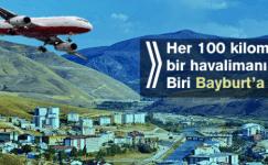 Her 100 Kilometrede Bir Havalimanı Yapılacak