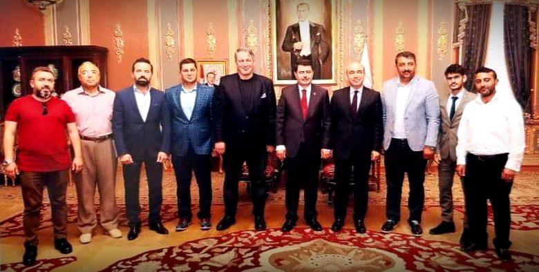 İstanbul Valisini  Vakıf yönetimi olarak Ziayeret ettik.