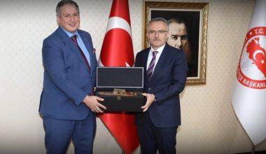 Cumhurbaşkanlığı Strateji ve Bütçe Başkanı Naci Ağbal'ı Ziyaret