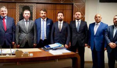 Ankara'da Ziyaretlerimiz devam etti.