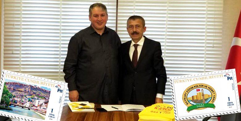 Başkan Pul ve Kargo anlaşmasını imzaladı..