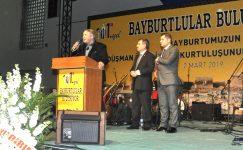 Başkanımız Anadolu Yakası Derneklerinin Düzenlediği gecede hemşerilerimize hitap etti.