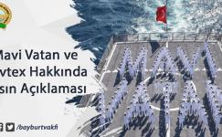 Mavi Vatan ve Navtex Hakkında Basın Açıklaması