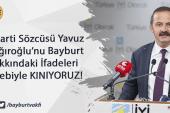 İYİ Parti Sözcüsü Yavuz Ağıralioğlu'nu Bayburt Hakkındaki İfadeler Sebebiyle KINIYORUZ!