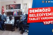 Demirözü Belediyemize Tablet Yardımı Yaptık