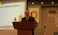 Cazibe Merkezi Programı Sayın Vakıf Başkanı Nusret Parıldar konuşması