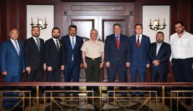 Vakıf Yönetinden Genelkurmay Başkanımıza Ziyaret