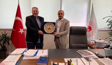 İstanbul Altyapı ve Kentsel Dönüşüm Müdürlüğü Ziyareti
